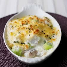 cuisiner poisson blanc gratin de poisson blanc aux poireaux recette minceur weight