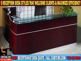 Modern Reception Desk For Sale Modern Reception Desks For Sale In Houston