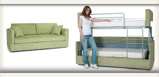 Transform A Sofa Into Bunks In A Few Seconds RV Daily Report - Rv bunk beds