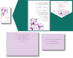 Lavender Wedding Invitations Emerald Green U0026 Lavender Wedding Invitation U2013 A Vibrant Wedding