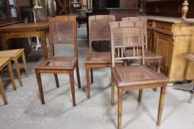 Esszimmerst Le Vintage 4 Stühle Aus Der Zeit Des Jugendstil 02561