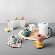 tea set wooden tea set hearth with magnolia target