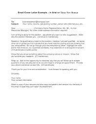 email cover letter examples for resume sample of email cover letter template sample of email cover letter