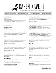 how to design a resume kavett design layouts