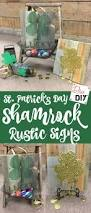 simple st patrick u0027s day rustic decor sign diva of diy
