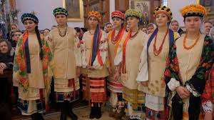 dormition cathedral holy mountains lavra church choir female