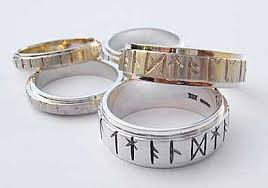 Viking Wedding Rings by Super Wow New Wedding Rings Rune Wedding Rings