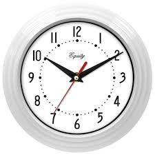 Wall Clock Equity By La Crosse 8