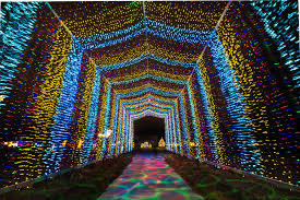 Botanical Gardens Christmas Lights by 10 Best Christmas Light Displays In Kansas