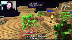 captainsparklez house in mianite minecraft sky factory ep 14 dividing by diamonds youtube