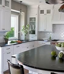 Designer White Kitchens Pictures Best 25 Black Counters Ideas On Pinterest Dark Countertops