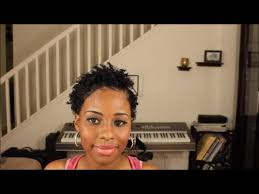 twa pixie on long hair the best twa flat twist out 4 type natural hair youtube