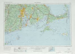 Eastern Massachusetts Map by Chatham Topographic Maps Ma Usgs Topo Quad 41068a1 At 1 250 000