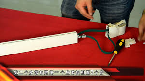 Heavy Duty Flexible Curtain Track by Szone Motorized Flexible Curtain Track Installation Youtube