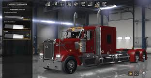 kenworth parts dealer kenworth w900 1 3 edit pinga american truck simulator mod ats mod