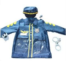 Boys Police Officer Halloween Costume Aliexpress Buy Free Shipping Children Child Police Officer