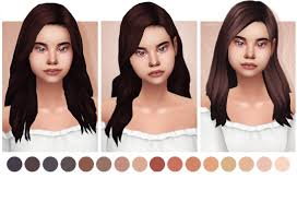 sims 4 hair cc the sims 4 hair tumblr