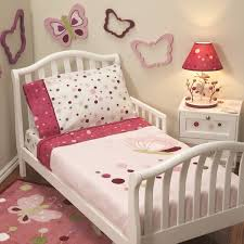 girls butterfly bedding toddler bedding for girls image of marrielle complete comforter