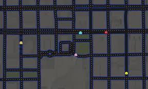 New York Google Map by Play Pac Man Around The World In Google Maps Digiwonk Gadget