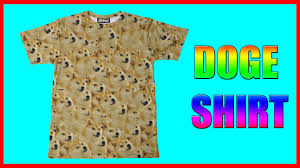 Doge Meme T Shirt - doge meme t shirt unboxing wow such shirt much meme かぼす youtube