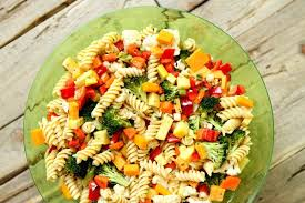 pasta slad summer vegetable pasta salad recipe girl