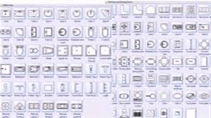 commercial floor plan symbols youtube
