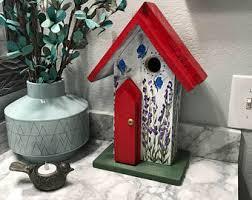 handmade birdhouses bird feeders bee bug by birdhousesbymichele