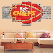 home decor stores kansas city awesome kansas city chiefs canvas wall art picture home decor u best