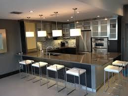 hickory wood light grey prestige door stainless steel kitchen
