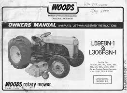 woods rotary mower l59f8n 1 u0026 l306f8n 1 owner u0027s manual