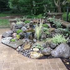 Backyard Water Fountain by Best 25 Pond Waterfall Ideas Only On Pinterest Diy Waterfall