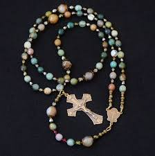 free rosaries s catholic rosary indian agate and sardonyx with