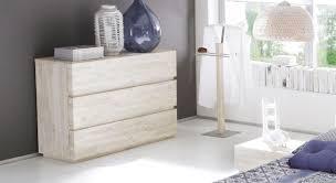 Schlafzimmer Kommode Schubladen Kommode Aus Akazienholz In Weiß Arezzo Betten De