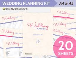 the ultimate wedding planner organizer printable wedding planner organizer printable wedding