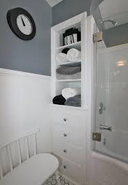 Bathroom Built In Storage Ideas Charming Bathroom Built In Cabinets With 47 Creative Storage Idea
