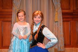 meet greet anna elsa princess fairytale hall
