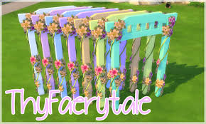 wedding arches in sims 4 ƹ ӝ ʒ ts4 cc pastel wedding arch recolor ƹ ӝ ʒ comes in the