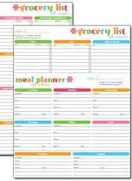 printable blank meal planner free printable weekly meal planner weekly meal plans weekly meals