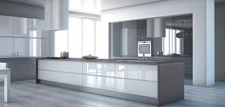 great gloss white cabinet doors high gloss grey kitchen cabinet