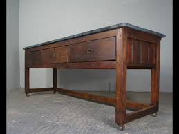 top table sideboard or kitchen island on casters