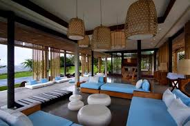 Home Interior Romantic Sensation Of A Bali House Design Pretty - Bali bedroom design