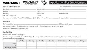 Panera Online Application Form Walmart Job Application Pdf Whitneyport Daily Com