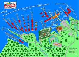 cumberland lake map conley bottom resort