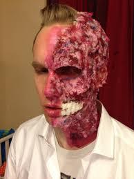 where can i buy liquid latex for halloween batman u0027s twoface halloween makeup u2014 charlotte van loo