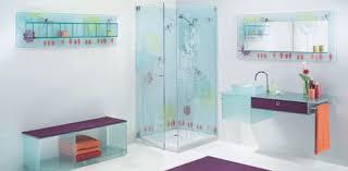 Printed Glass Bathroom By Elidur Grace Bathroom - Glass bathroom