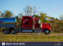 kenworth usa typical clean shiny american kenworth truck bulk liquid freight