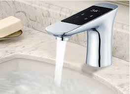 Touch Sink Faucet Discount Touch Basin Faucet Digital Thermostatic Faucet Mixer
