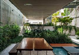 Modern Architecture House Urban Jungle Meets Modern Architecture In A Sao Paulo Weekend House