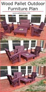 Outdoor Wooden Chairs Plans Best 25 Pallet Furniture Plans Ideas On Pinterest Pallet