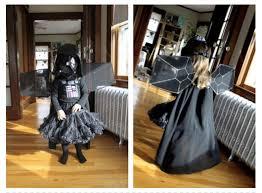 Darth Vader Halloween Costume Tiny Fairy Princess Darth Vader Wins Halloween